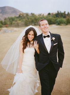 Elegant & romantic wedding at The Crosby in Rancho Santa Fe #TheCrosby #CrosbyWedding #RanchoSantaFe #Bride&Groom