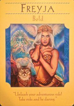 Freyja - Bold Goddess Guidance Oracle Cards by Doreen Virtue