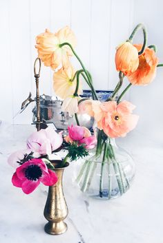 floral arrangements photographed by amy stone.