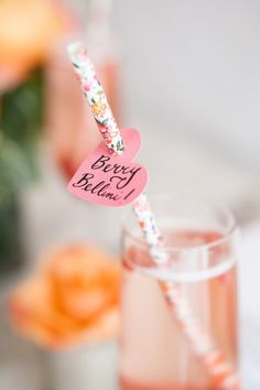 Berry bellini: http://www.stylemepretty.com/2014/07/08/15-ways-to-serve-up-bubbly/
