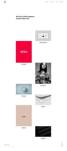 Kaleo - Creative Portfolio WordPress Theme with Minimal Design Best Portfolio Websites, Portfolio Website Design, Creative Portfolio, Website Themes, Minimal Design, Wordpress Theme, Minimalism, Web Design, Minimalist Design