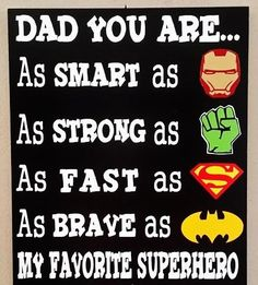 Father's Day Gift Superhero Sign Dad You Are by WordArtTreasures day gift superhero This item is unavailable Fathers Day Cards Handmade, Fathers Day Art, Fathers Day Wishes, Diy Gifts For Dad, Diy Father's Day Gifts, Fathers Day Quotes, Father's Day Diy, Fathers Day Crafts, You Are My Superhero