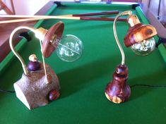 Les lampes en bois tourné par ACHILLE CREATIONS