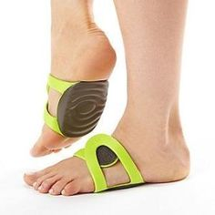 PUX Shoeless Arch Supports, Pair :: Foot Health :: Heel Pain / Plantar Fasciitis :: Foot / Arch Supports :: FootSmart by randi