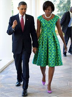 Love Pearls! First Lady Style Michelle Obama: