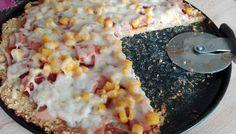 Cukkini pizza recept (liszt és cukor nélkül)
