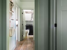 Tile is the star in these small spaces, where style was not limited by size.