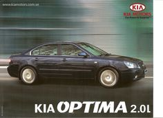 Was sold in Venezuela Kia Motors, Kia Optima, Venezuela