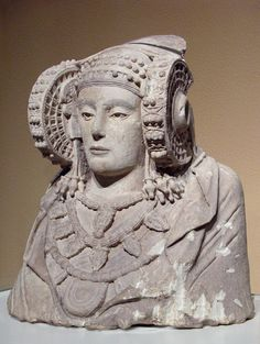 Lady of Elche is a once polychrome stone bust that was discovered by chance in…