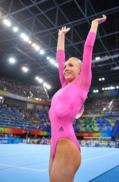 Olympic Games 2008: Nastia Liukin AA Champion gymnastics gymnast