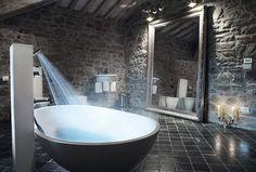 SPA salle de bain pierre design