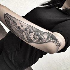 #whale #whaletattoo #tattoo #blackwork #dotwork #dotworktattoo #ink
