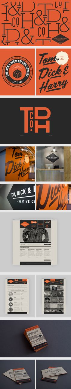 Tom, Dick & Harry identity and stationary