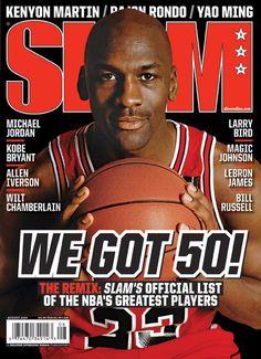 SLAM 130: Chicago Bull Michael Jordan appeared on the cover of the 130th issue of SLAM Magazine (2009).