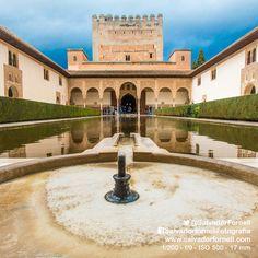 Patio de los Arrayanes  #laAlhambradeldia 221  http://www.flickr.com/photos/salvadorfornell/8592376249/lightbox/  www.salvadorfornell.com