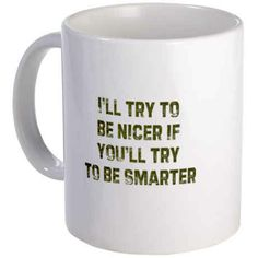 Paint ceramic mug  This one's just plain rude: | The 15 Tackiest Mugs On The Internet