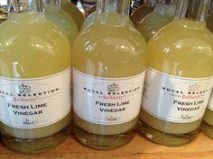 Belberry Fresh Lime Vinegar | tedkennedywatson.com