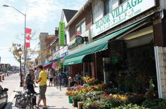 Bloor West Village extends along Bloor Street from the eastern edge of Etobicoke (around Jane Street) to just east of Runnymede Road.