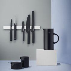 Luxury Bedding & Designer Homeware Accessories Pure Black Knives - Kitchen Knives - Kitchen