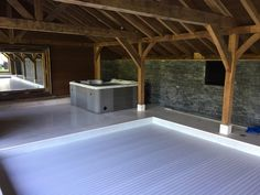 Convert an old out building and install a swimming pool and add a hot tub. A revitalising experience.