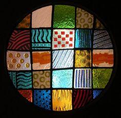 la création du vitrail contemporain de Carlo Roccela