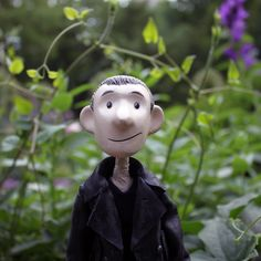 9th Doctor Puppet in the Shakespeare Garden, Central Park