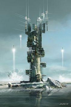 Sci-Fi Illustrations