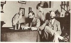 Lytton Strachey, Dora Carrington and James Strachey