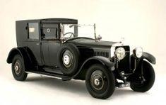 1924 Hispano-Suiza H6B 32CV 6.6-Liter Coupe de Ville