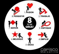 Capisco te dice be great! http://capiscomarketing.es/