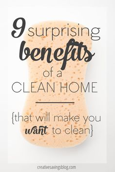 For those of use who hate to clean, we wonder what the whole purpose is of keeping a tidy and clutter-free home. These 9 surprising benefits will completely change your perspective on cleaning in general, and by the time you`re done reading this post, you will want to establish a regular cleaning routine right away!