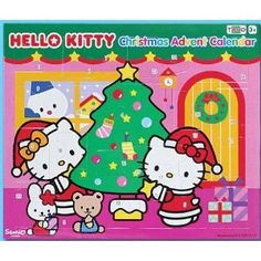 Hello Kitty Advent Calendar --- http://www.amazon.com/290230-Hello-Kitty-Advent-Calendar/dp/B0043IJ060/?tag=mydietpost-20