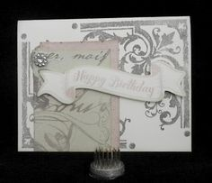 Saving My...: Baroque Birthday - August Stamp of the Month Blog Hop