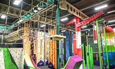 Clip and Climb Experience with Leap of Faith or Vertical Drop Slide for Up to Four at Sky High Adventure Climbing Wall, Leap Of Faith, Sky High, Bouldering, Manchester, Adventure, Drop, Banner, Gift Ideas