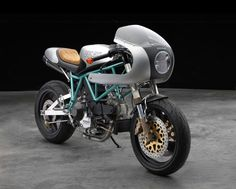 A Paul Smart Ducati with SuperSport genes by Moto Studio.