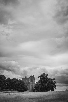 Craigmillar Castle by Errne. Edinburgh, Scotland.