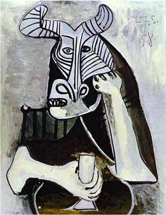 Picasso's 'Bull Man'