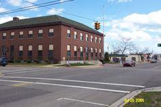 Post Office on Newman Street, East Tawas, MI