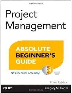 This book helps you to master every project management task, from upfront budgeting and scheduling through execution, managing teams through closing projects, and learning from experience. Updated for the latest web-based project management tools and the newest version of PMP certification, this book will show you exactly how to get the job done.  Cote: 4-12 HOR