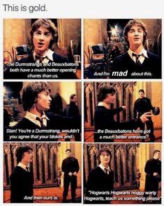 Wow harry Harry Potter Jokes, Harry Potter Cast, Harry Potter Universal, Harry Potter Fandom, Harry Potter Marauders, Sassy Harry Potter, Harry Potter Stuff, Harry Potter Interviews, Headcanon Harry Potter