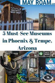 5 Must-See Museums in Phoenix & Tempe Arizona