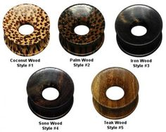 Exotic Wood Earlets(s)