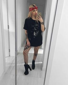 Snowman Print Sweatshirt Women Winter 2018 Fashion Ladies Festival Hoodies Crewneck Kawaii Printed Pullover Top Outfit White XL - New Ideas Rock Outfits, Edgy Outfits, Grunge Outfits, Summer Outfits, Cute Outfits, Fashion Outfits, Womens Fashion, Grunge Fashion, Looks Style
