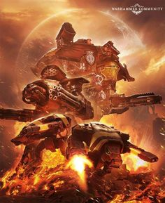 97 Best 40k Titans/Knights/Mechanicus images in 2019