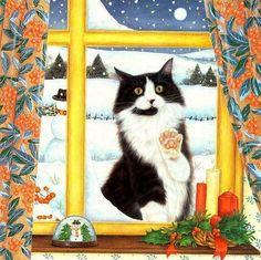 Visiteur de Noël-Anne Mortimer