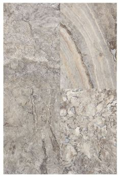 Silver Travertine Polished & Filled 8x12
