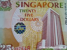 dollar note issued in One of only two twenty-fives ever issued by MAS. The Twenties, Old Things, Notes, Lifestyle, Report Cards
