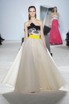 Giambattista Valli Spring 2014 Couture Fashion Show - Esther Heesch (Next)