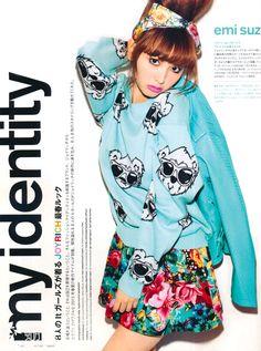 emi suzuki in nylon japan Popteen, Ugly To Pretty, Japanese Models, Gyaru, Harajuku Fashion, Issey Miyake, Fashion Photography, Photoshoot, Street Style