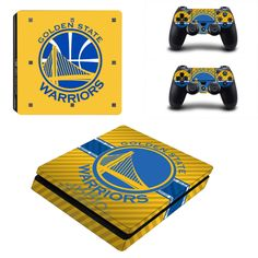 >> Click to Buy << NBA Golden State Warriors PS4 Slim Skin Sticker Decal For Sony PS4 PlayStation 4 Slim Console and 2 Controllers Stickers #Affiliate